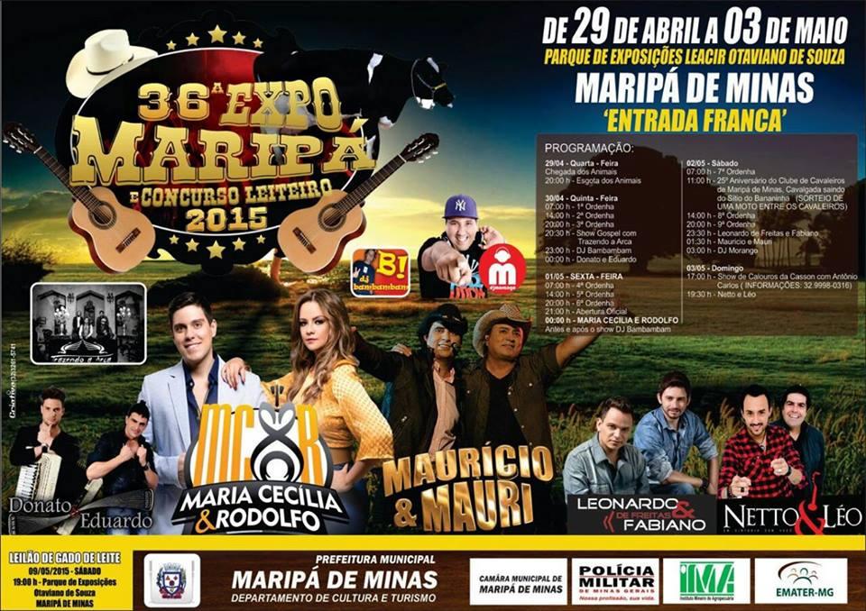 Exposição Maripá 2015